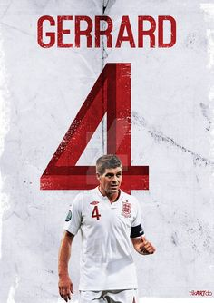 Gerrard 4 by riikardo on DeviantArt Salah Liverpool, Fc Liverpool, Liverpool Football Club, Gerrard Liverpool, Liverpool Champions, England National Team, Liverpool Wallpapers, Steven Gerrard, This Is Anfield