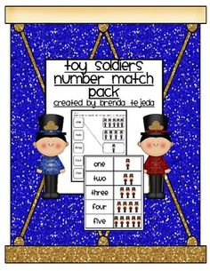 Toy Soldier Number Match 1-10