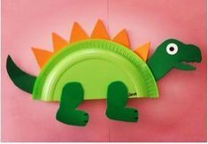 paper plate dinosaur craft ideas | Crafts and Worksheets for PreschoolToddler and Kindergarten # : stegosaurus paper plate craft - pezcame.com