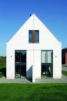 Haus on pinterest for Doppelhaus moderne architektur