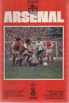 Football Program, Crystal Palace, Arsenal, Kicks, English, Seasons, Vintage, Seasons Of The Year, English Language
