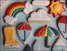 Raindrops & Rainbows COOKIES