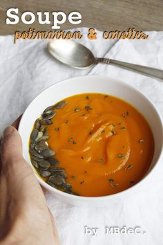 Soupe de potimarron & carotte au safran et zestes d'orange – Mes brouillons de cuisine