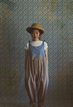 The Farmers Jumper in Chambray Linen Make this out of a man's shirt upside down? All Jeans, Mori Girl, Japan Fashion, Chambray, What To Wear, Jumper, Fashion Outfits, Fashion Weeks, One Piece