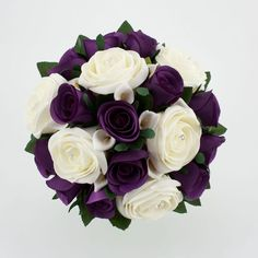 purple wedding bouquet - Google Search