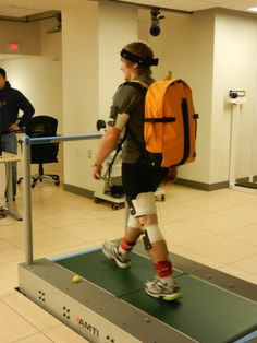 A Go Kin prototype gets put through its paces during extensive biomechanical testing at Queen's University. Queen's University, Behind The Scenes