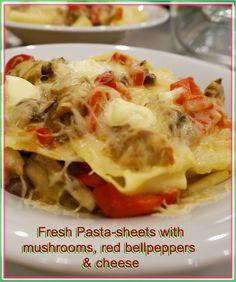 I love italian food - and especially fresh pasta Fresh Pasta, Special Recipes, Italian Recipes, Meals, Food, Credenzas, Meal, Essen, Yemek