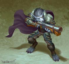 Worgen Hunter by VanHarmontt on DeviantArt World Of Warcraft Characters, Fantasy Characters, World Of Wacraft, Tomb Raider Cosplay, Warcraft Art, Wow Art, Comic Games, Video Game Art, Werewolf