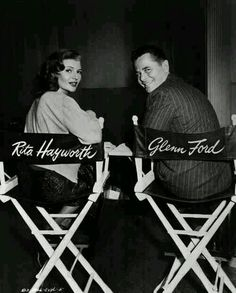 During filming of Gilda