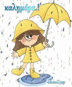 Emoji Images, Gifs, Good Morning, Pikachu, Rain, Fictional Characters, Lifestyle, Rain Fall, Trading Cards