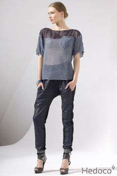 Double-sided pants and T-shirt    [Hedoco + Edyta Jermacz]