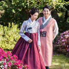 #hanbok #beautiful #couple #청초 #elegant