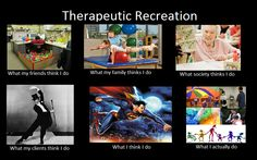 Therapeutic recreation meme