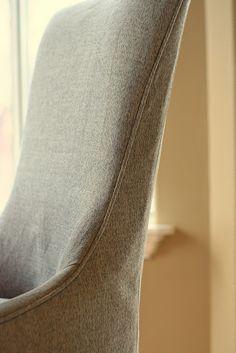menswear chair slipcover