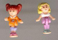 1995 - Polly Pocket Dress Shop Pollyville