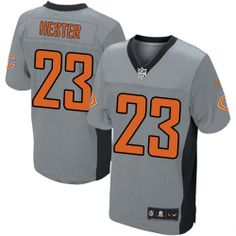 Mens Nike Chicago Bears  23 Devin Hester Limited Grey Shadow NFL Jersey  Pittsburgh Steelers 8694e8a93