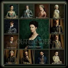 Outlander Season 2 Main Cast