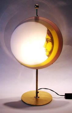 fornasetti MOON table lamp: Piero Fornasetti