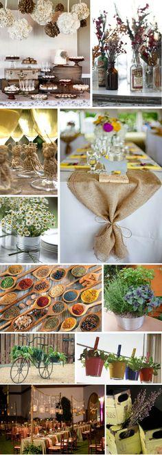 Sua festa bem temperada, inspirada no sabor e cor das especiarias.