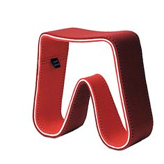 Felt Stool, Hella Jongerius  http://www.galeriekreo.fr/furniture_and_objects/seatings/