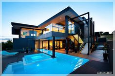 Cool house with pool
