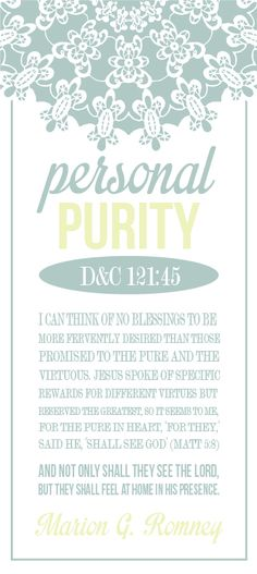 All Things Bright and Beautiful - personal purity/chastity handouts. this site has lots of well designed, modern, not-too-frilly printables