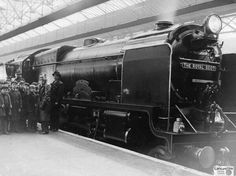 #Lancslines images: The Royal Scot at Southport c1950