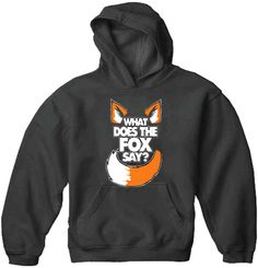 What Does The Fox Say? YLVIS Hoodie