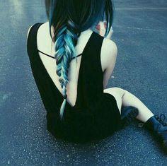 See more ideas about Hair, Dyed hair and Hair styles. Love Hair, Gorgeous Hair, Coloured Hair, Coloured Highlights, Brunette Highlights, Dye My Hair, Pastel Hair, Scene Hair, Mermaid Hair