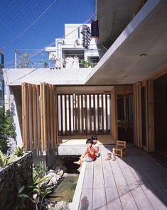 Pond used as cooling agent Gallery of MA of Wind / Ryuichi Ashizawa Architect & Associates - 8