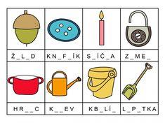 RVP - Doplň správná písmena Activities, School, Projects, Schools