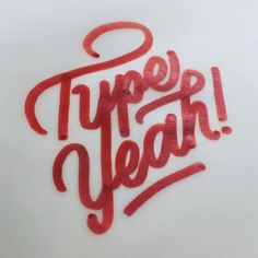 Rise and shine! It's Tuesday! This weeks #typeyeahtuesdays entry goes to @gee_nobile with his lettering of the #typeyeahlogo 👏🏻 Join the Typeyeah Instagram Challenge by designing your best version of the 'Typeyeah' logo and post it to Instagram with the hashtag #typeyeahlogo. Each Tuesday a favourite will be selected and featured on the Typyeah Instagram page.