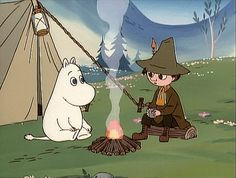 All things moomin. Les Moomins, Moomin Valley, Tove Jansson, Little My, Gifs, Pikachu, Anime Art, Character Design, Childhood