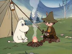 All things moomin. Moomin Tattoo, Les Moomins, Tove Jansson, Moomin Valley, Little My, Kawaii, My Childhood, My Idol, Anime Art