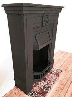 Dollhouse attic fireplace tutorial