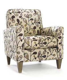 OBVIOUSLY needs a PINK makeover! But I do love the pattern on this Stone Cosgrove Chair on #zulily! #zulilyfinds