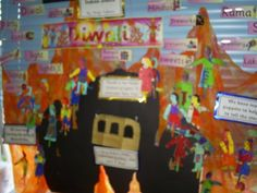 Diwali Display, Classroom Display, class display, festival, culture, Diwali, Hindu festival, celebrations, Early Years (EYFS), KS1 & KS2 Primary Resources