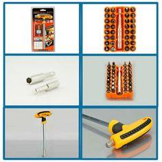 JAKEMY JM-6105 32 in 1 T Type Screwdriver Kit #men, #hats, #watches, #belts, #fashion