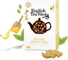 English Tea Shop – Bio gyömbér-méz tea, 20 filter, 30 g