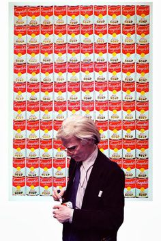 """Andy Warhol.  """"art is what you can get away with"""""""