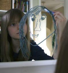 Mirrored Self-Portraits!