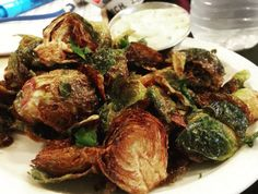 Fry brussels sprouts in a skillet with some bacon and you'll never believe how good they taste.