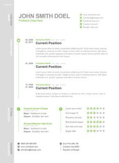 Resume Lay Out Simple Resume Layout  리포트형식  Pinterest  Resume Layout .