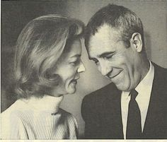 Lauren Bacall and Jason Robards <3