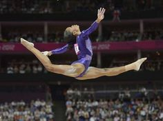 Gabrielle Douglas during the London 2012 Olympic Games - Robert Deutsch-USA TODAY Sports