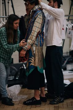 Street Style | Backstage at J.W.Anderson | London