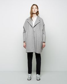 MM6 by Maison Martin Margiela  Cocoon Coat | La Garçonne