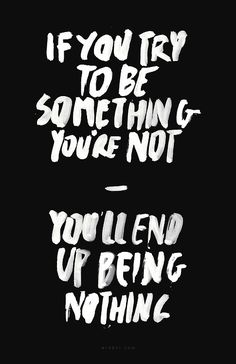 { something you're not } #staypositive #quotation #quotes #words #wisdom #truth #sayings #advice #motivational #inspirational #lifequotes #lifelessons