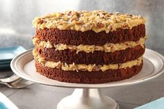 Make this classic BAKER'S GERMAN'S chocolate cake recipe for your next special occasion—and see for yourself what all the fuss about German chocolate cake is about!