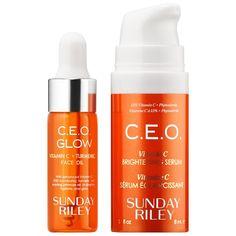 Micronutrient Kit - SUNDAY RILEY | Sephora Sunday Riley, Face Oil, Beauty Stuff, Turmeric, Sensitive Skin, Sephora, Serum, Kit, Vitamin E